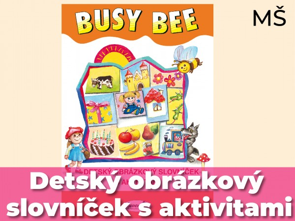 Detský obrázkový slovníček s aktivitami